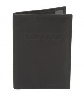 riedrich Lederwaren Reisepass-Etui Pass-Etui Leder schwarz mit RFID Schutz.