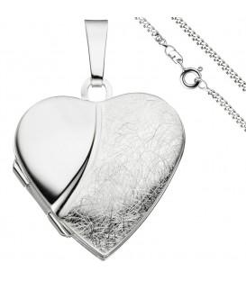 Medaillon Herz Anhänger zum - 49809