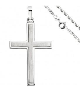 Anhänger Kreuz 925 Silber - 49810