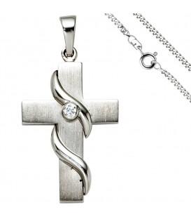 Anhänger Kreuz 925 Silber - 49813