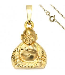 Anhänger Buddha 333 Gold - 49883