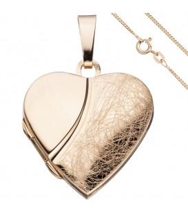 Medaillon Herz Anhänger zum - 49891