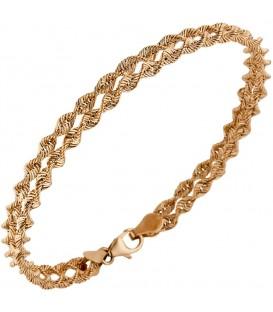 Armband 375 Gold Rotgold - 49044