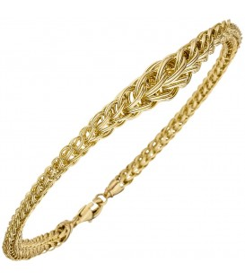 Armband 585 Gold Gelbgold - 49077