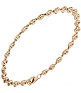 Armband 585 Gold Rotgold - 48882