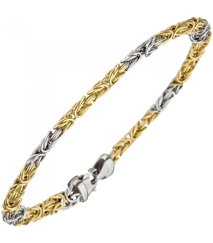 K nigsarmband 375 gold wei gold 49053 schmuck uhren - 375 gold ...