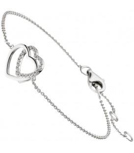 Armband Herz Herzen 925