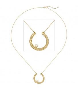 Collier Halskette 750 Gold