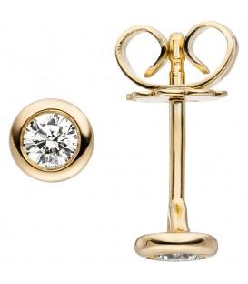 Ohrstecker 585 Gold Gelbgold