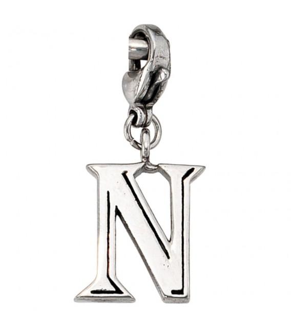 Einhänger Charm Buchstabe N - 4053258105740