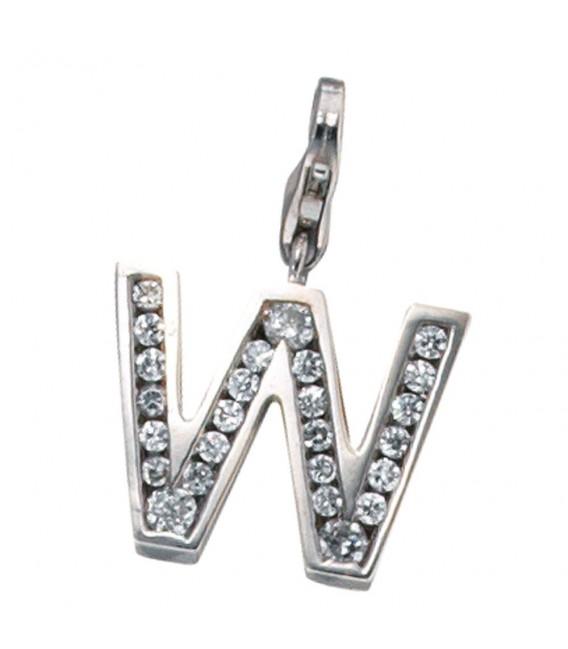 Einhänger Charm Buchstabe W - 4053258084120