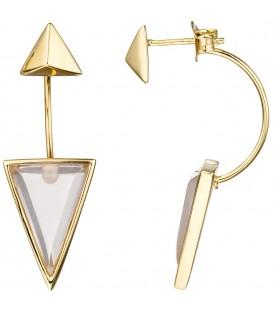 Ohrhänger dreieckig 925 Silber - 4053258319802