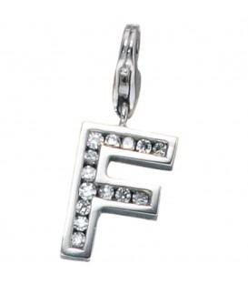 Einhänger Charm Buchstabe F - 4053258083956