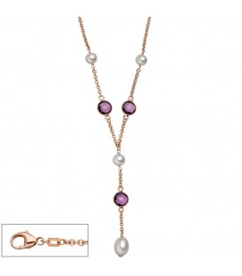 Collier 925 Silber rotgold - 4053258319680