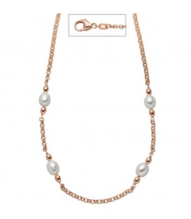 Collier 925 Silber rotgold - 4053258322307