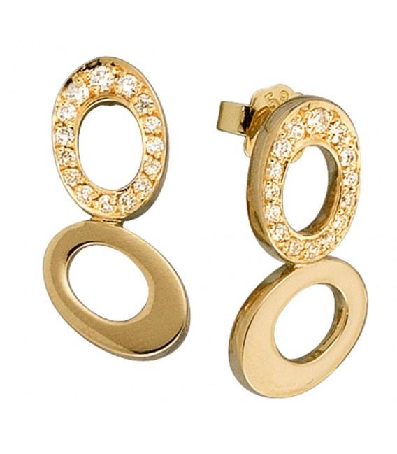 Ohrstecker 585 Gold Gelbgold - 4053258038628