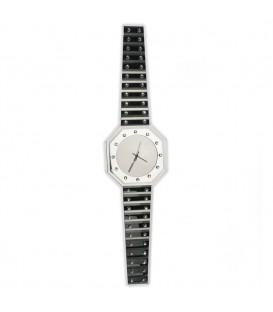 Spiegel-Wanduhr in Armbanduhr-Form Quarz - 4053258301067 Produktbild
