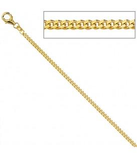 Panzerkette 333 Gelbgold diamantiert - 4053258064634 Produktbild