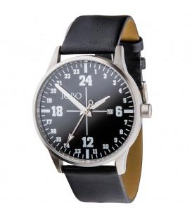 JOBO Unisex Armbanduhr 24-Stunden-Uhr - 4053258301494