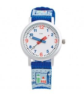 JOBO Kinder Armbanduhr helllbau - 4053258285466