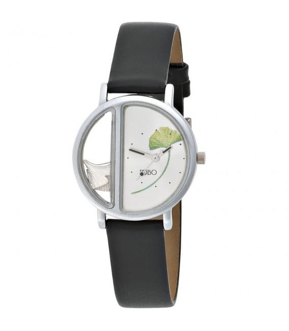 JOBO Damen Armbanduhr Ginko - 4053258372678