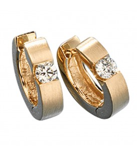 Creolen rund 585 Gold - 4053258034897 Produktbild