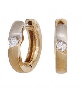 Creolen rund 585 Gold - 4053258242414