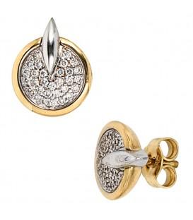 Ohrstecker 585 Gold Gelbgold - 4053258036464