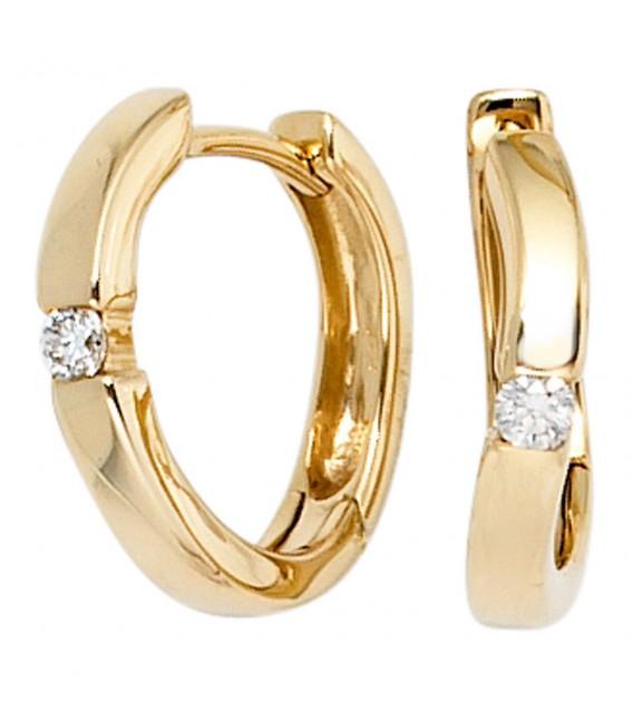 Creolen 585 Gold Gelbgold - 4053258198865