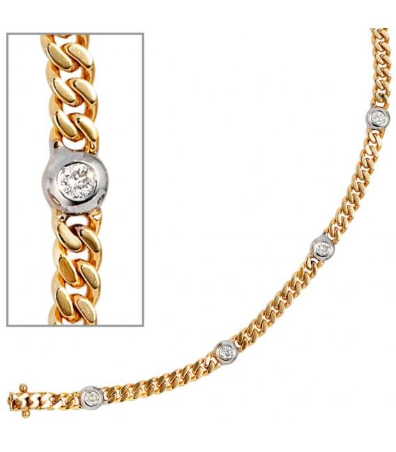 Armband 585 Gold Gelbgold - 4053258035818