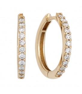 Creolen 585 Gold Gelbgold - 4053258244074
