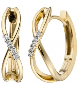 Creolen 585 Gold Gelbgold - 4053258313589