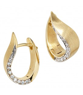 Creolen 585 Gold Gelbgold - 4053258039434