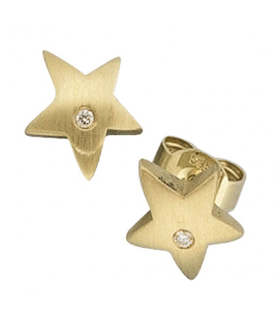 Ohrstecker Stern 585 Gold - 4053258044162