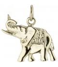 Anhänger Elefant 585 Gold - 42165