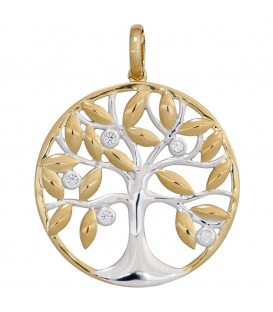 Anhänger Baum 585 Gold - 4053258246047