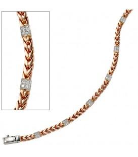 Armband 585 Gold Rotgold - 4053258042236