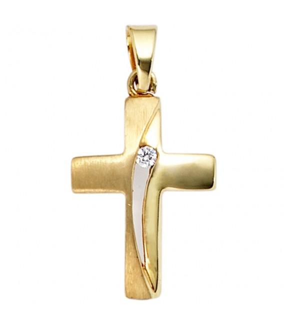 Anhänger Kreuz 333 Gold - 4053258202678