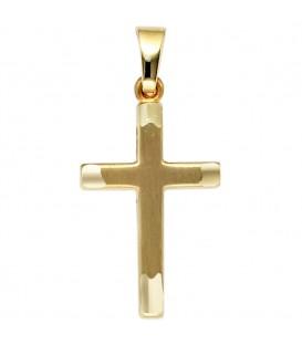 Anhänger Kreuz 333 Gold - 4053258202661 Produktbild