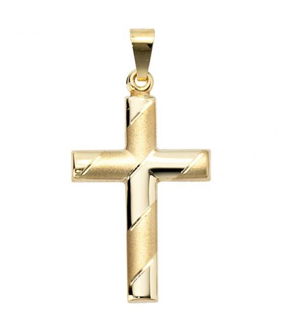 Anhänger Kreuz 333 Gold - 4053258045893