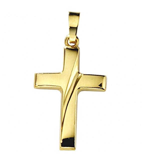 Anhänger Kreuz 333 Gold - 4053258045909