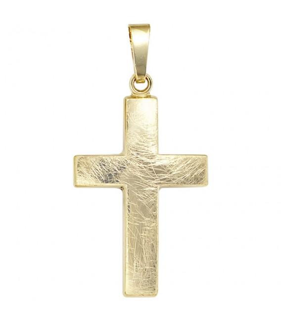 Anhänger Kreuz 333 Gold - 4053258046166
