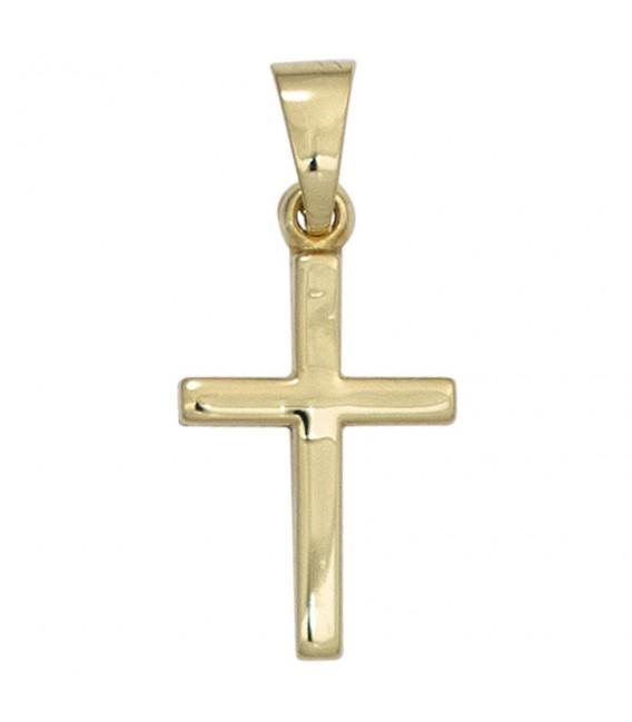 Anhänger Kreuz 333 Gold - 4053258247655 ...