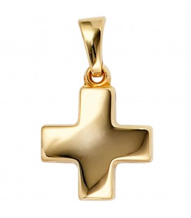 Anhänger Kreuz 333 Gold - 4053258202784