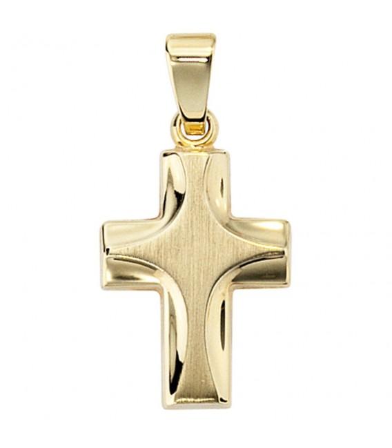 Anhänger Kreuz 585 Gold - 4053258046098