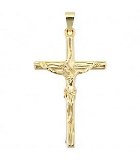 Anhänger Kreuz 585 Gold - 4053258046111