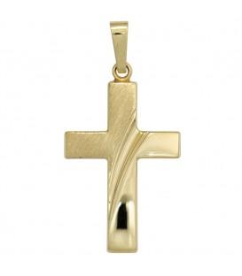 Anhänger Kreuz 585 Gold - 4053258247679