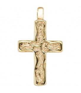 Anhänger Kreuz 585 Gold - 4053258202807