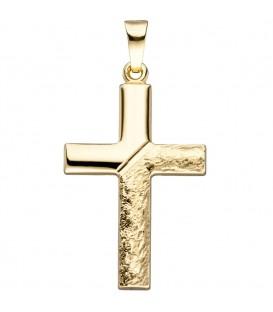 Anhänger Kreuz 585 Gold - 4053258323991 Produktbild