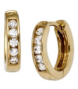 Creolen rund 333 Gold - 4053258202937